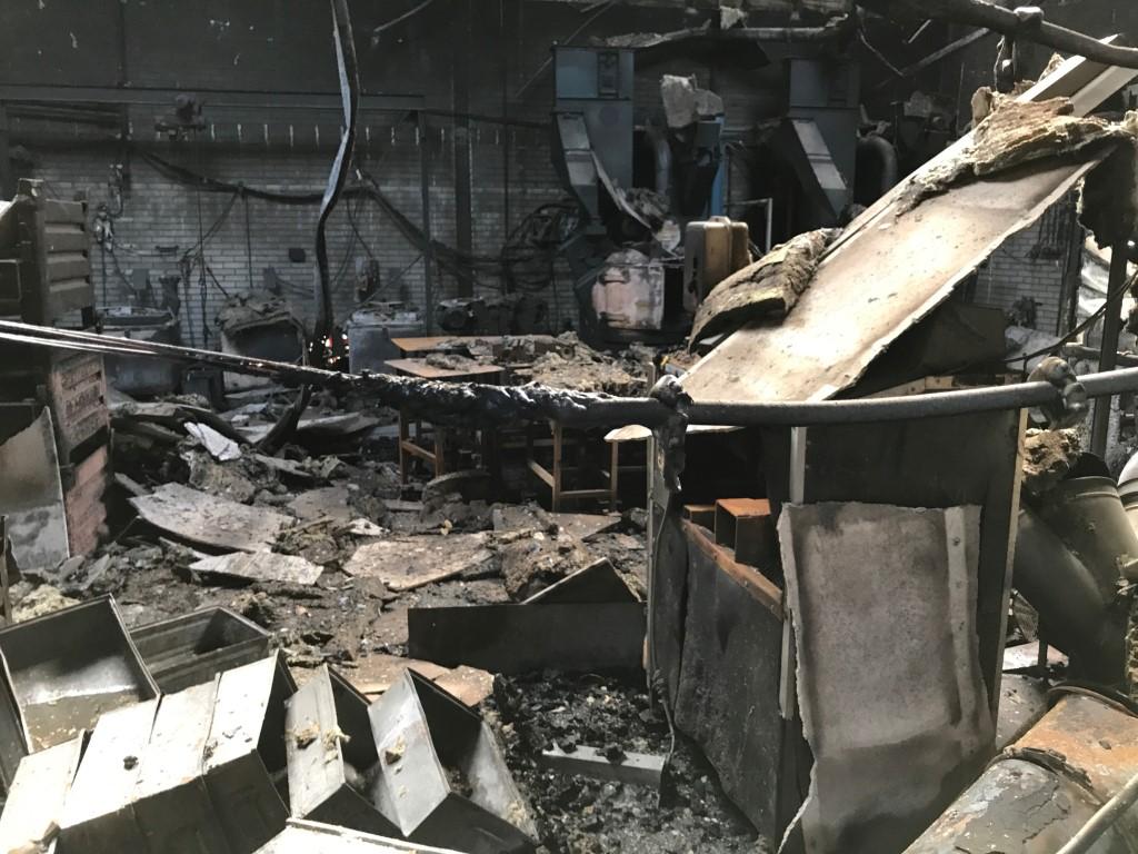 Asbestinventarisatie na brand