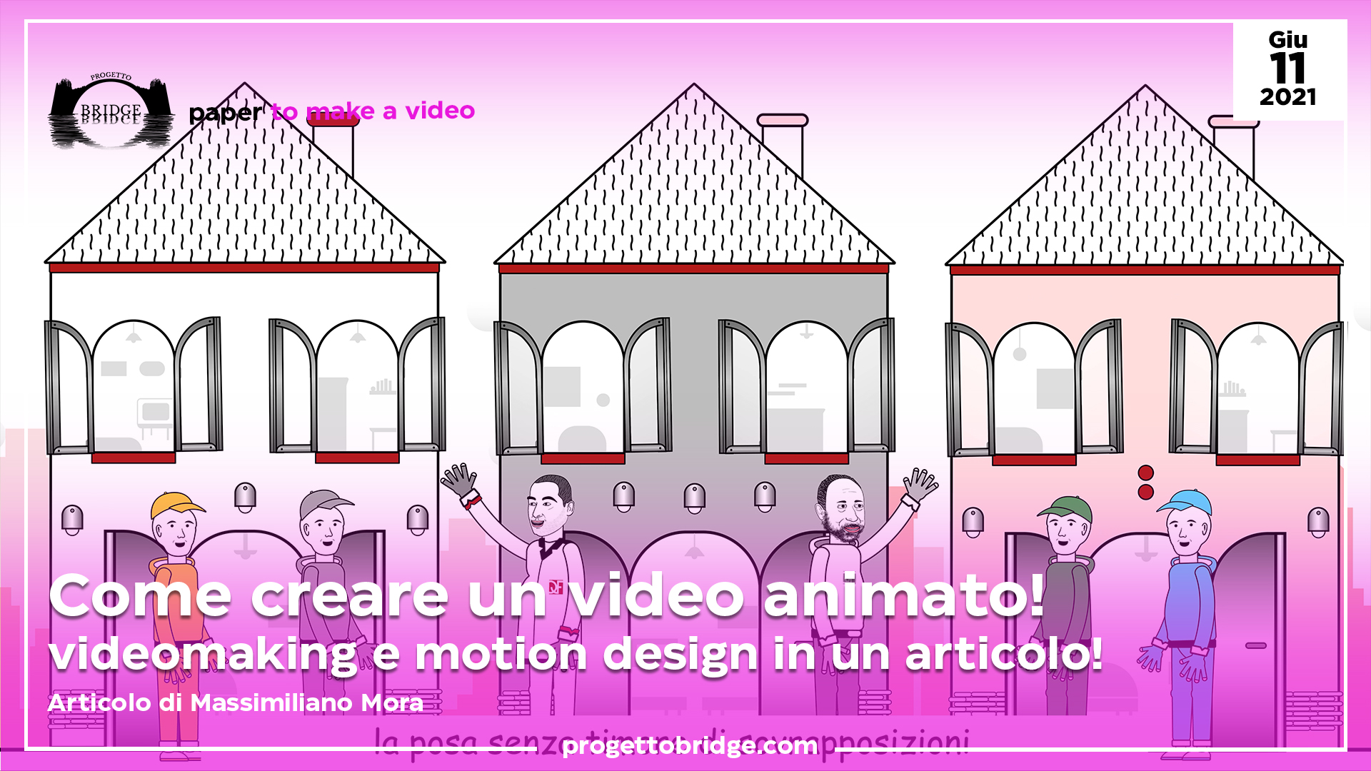 Come creare un video animato!