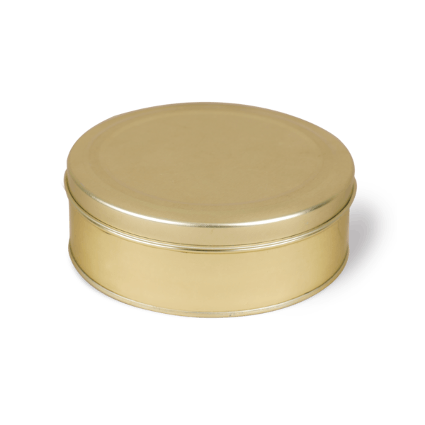 Can With Press Fit Lid