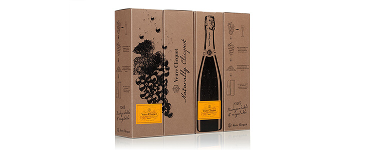 Eco-Friendly Packaging - Veuve clicquot