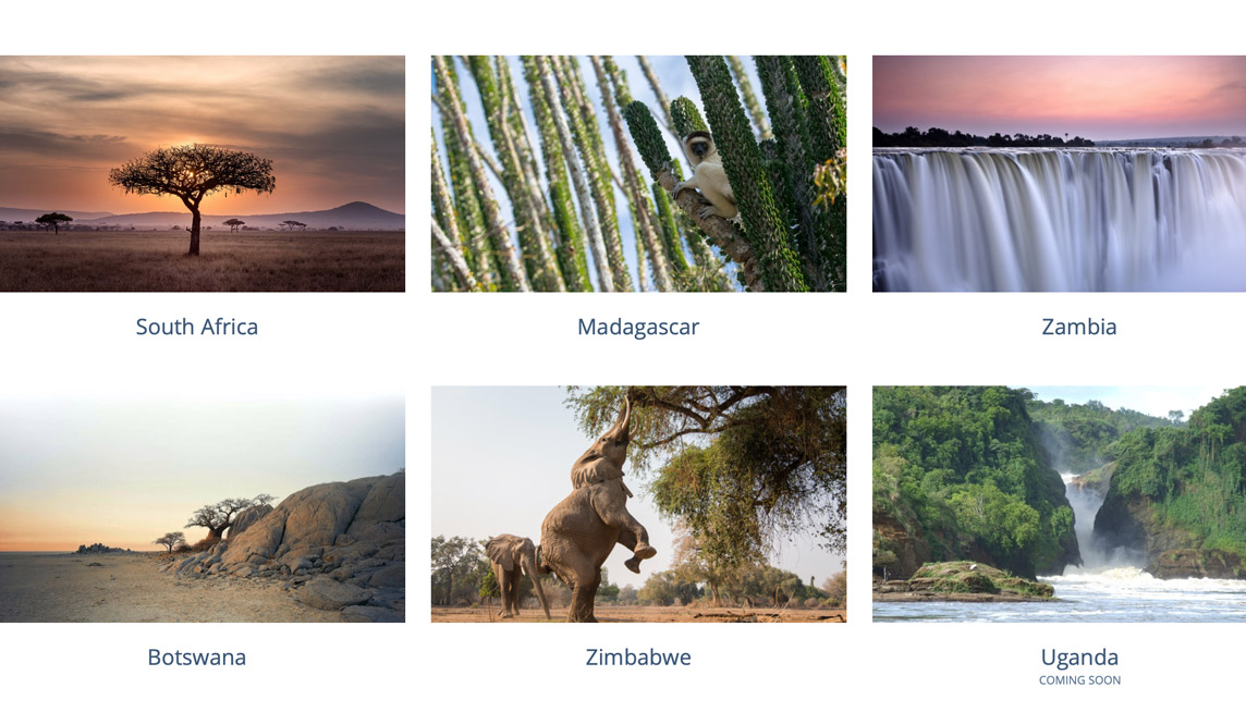 Destinations from The Africa Hub
