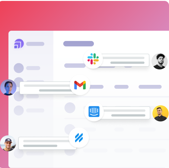 Slack, Gmail, Intercom, and Help Scout integrations for UserVitals