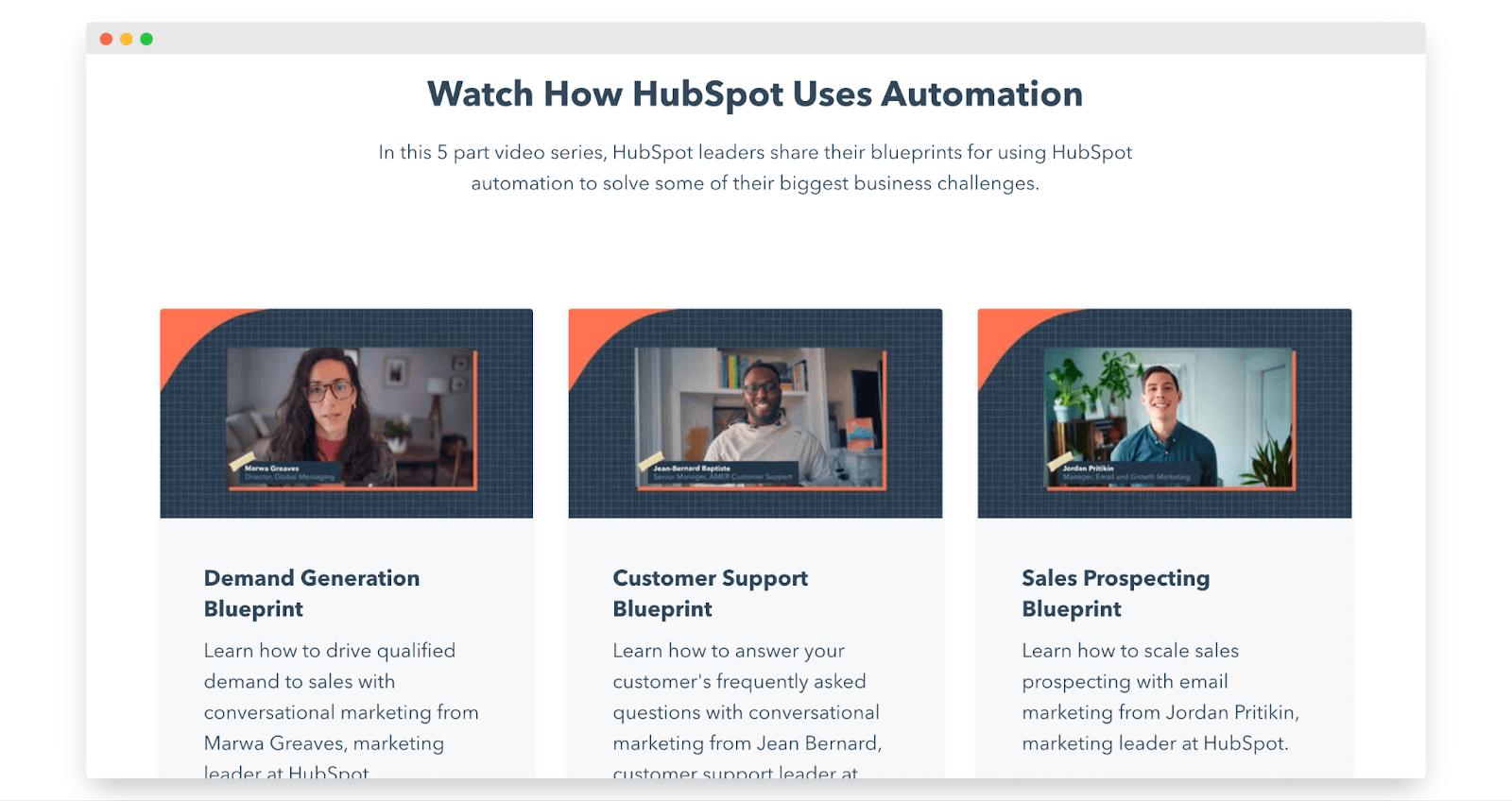 HubSpot Automation mini series