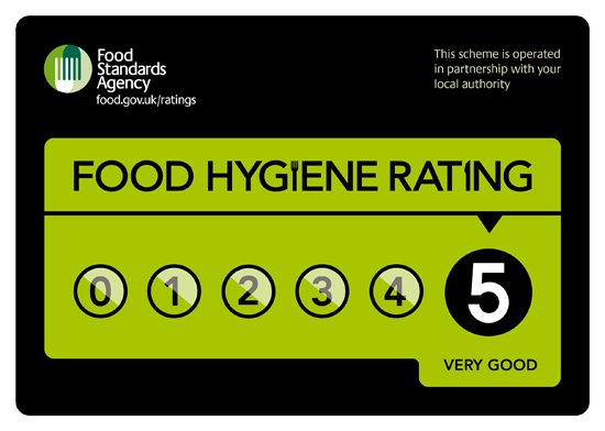 scores on the doors five star rating
