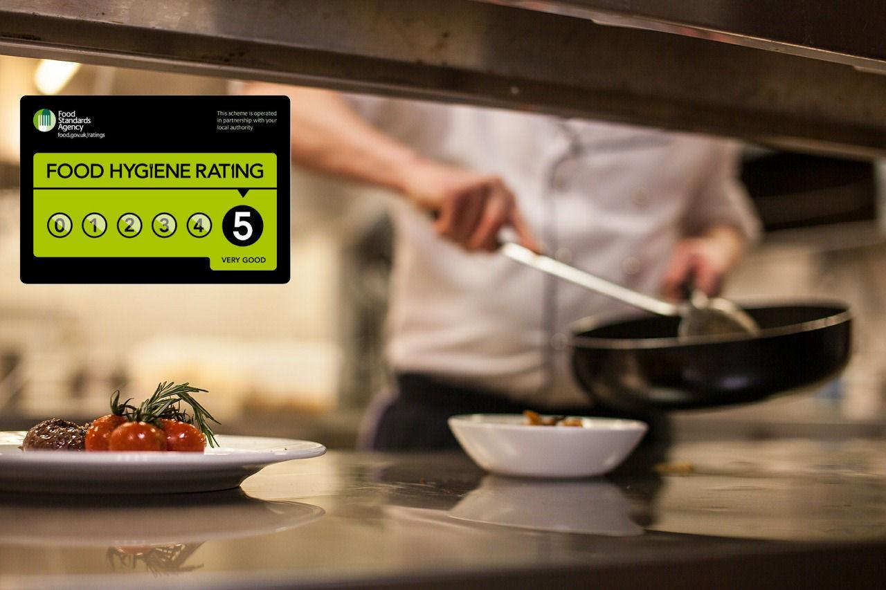 Food hygiene rating compulsory display
