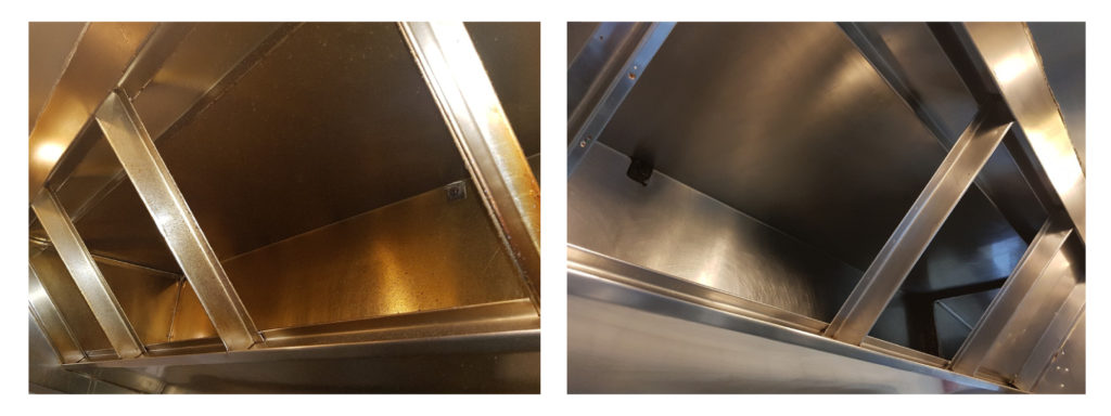 Why effective kitchen ventilation is important to staff health and safety.