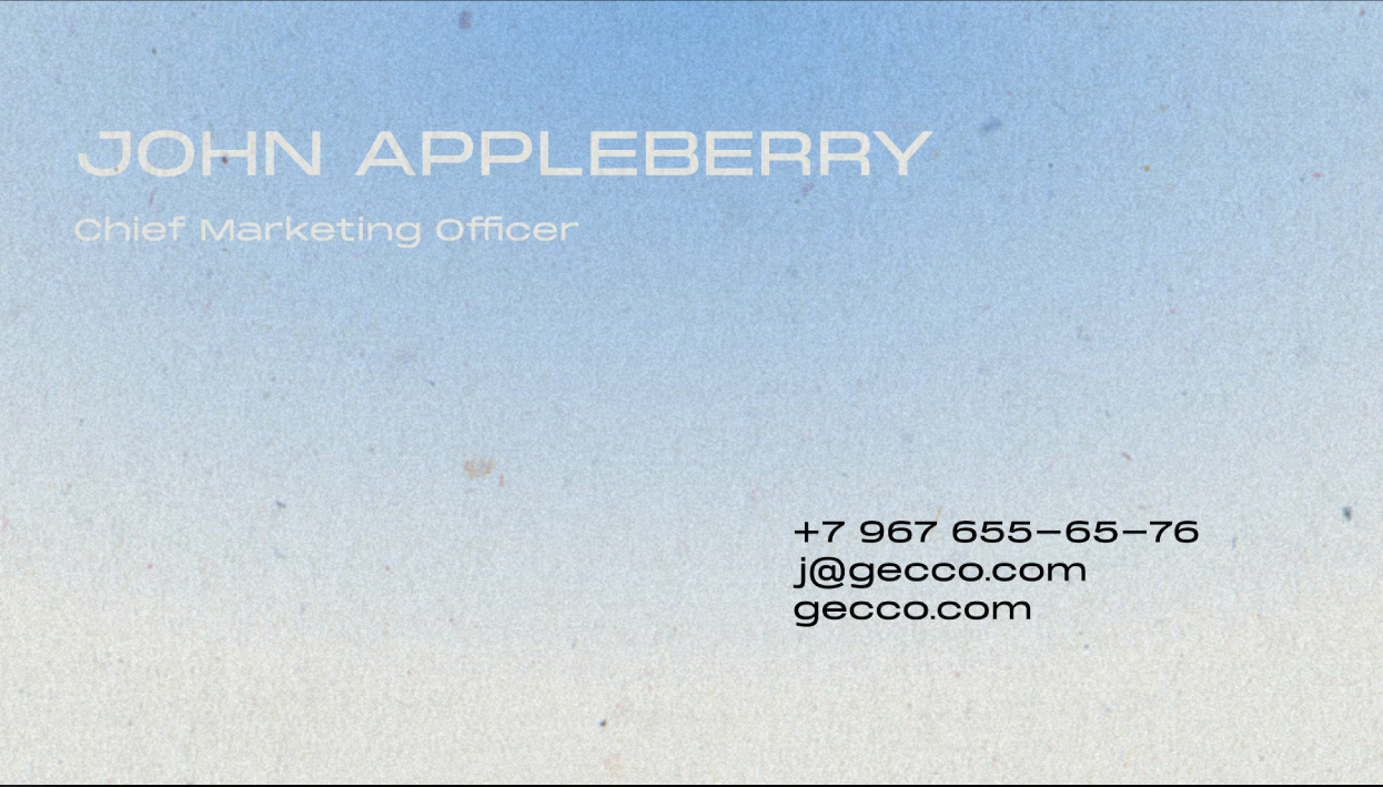 gecco business card back