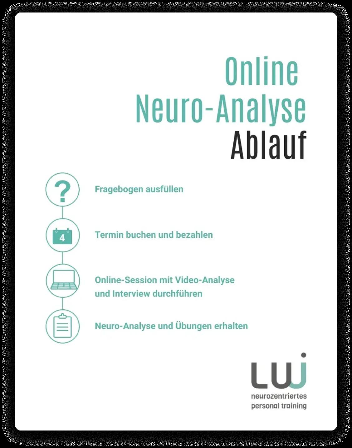 Überblick Online NEuro Analyse