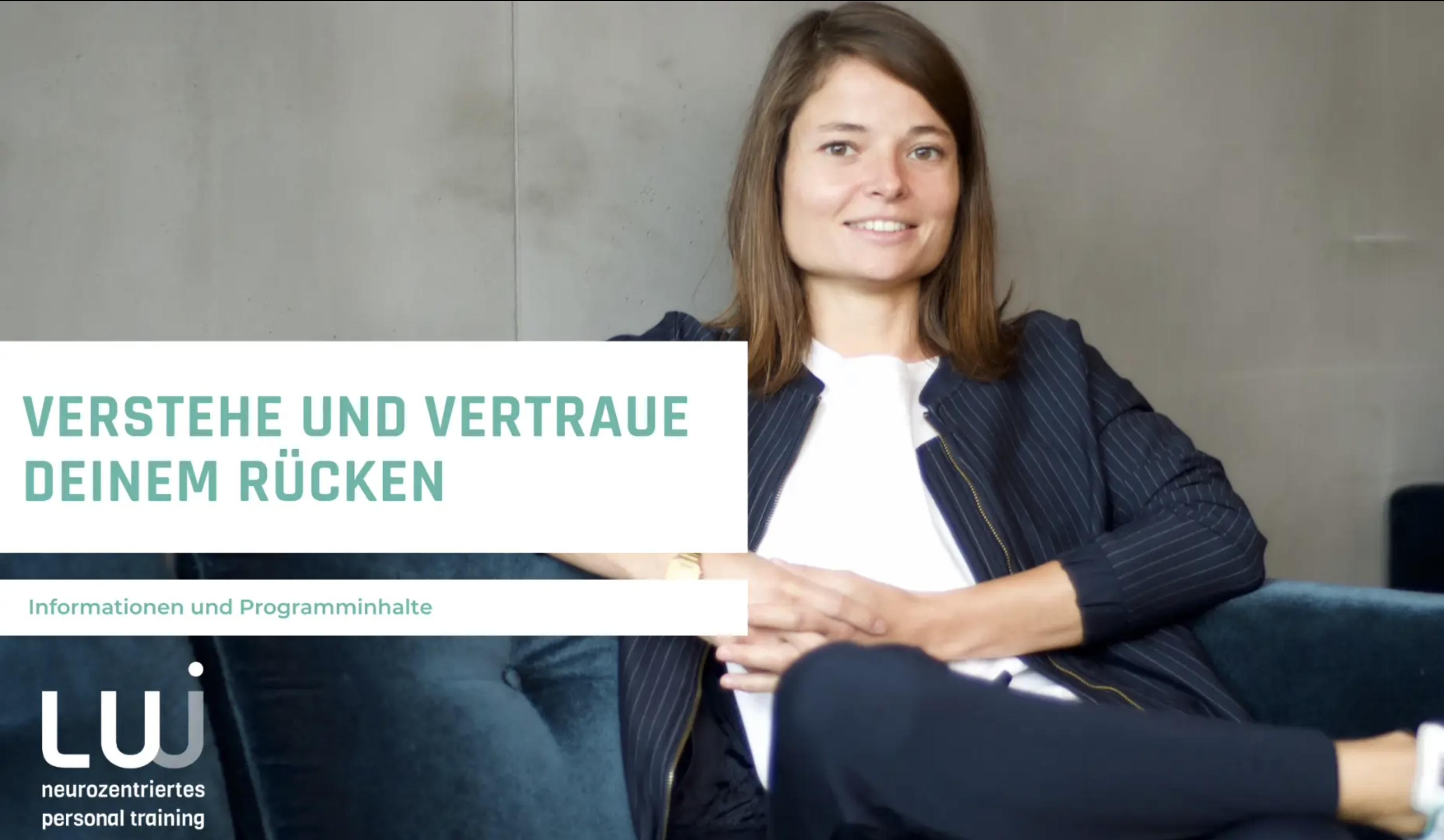 Video Cover Verstehe und Vertraue Deinem Rücken - Online Programm