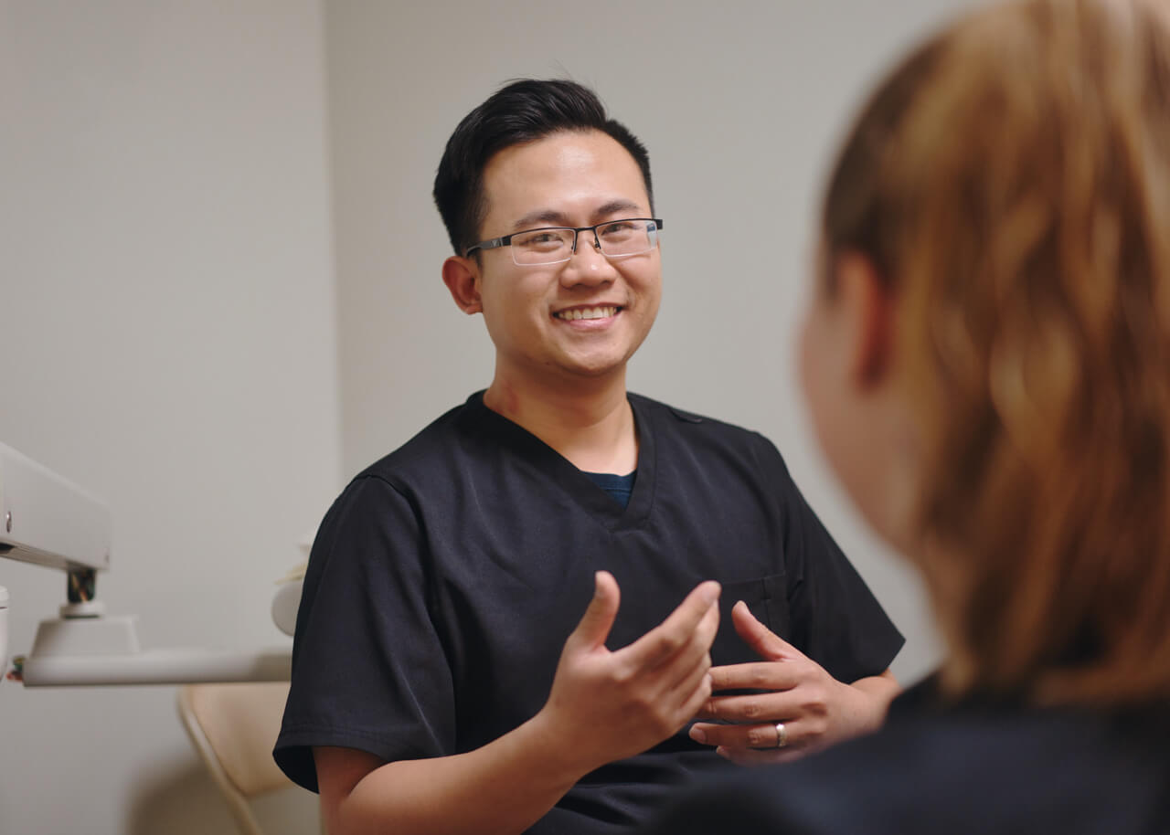 A Premier dentist creates a comfortable environment
