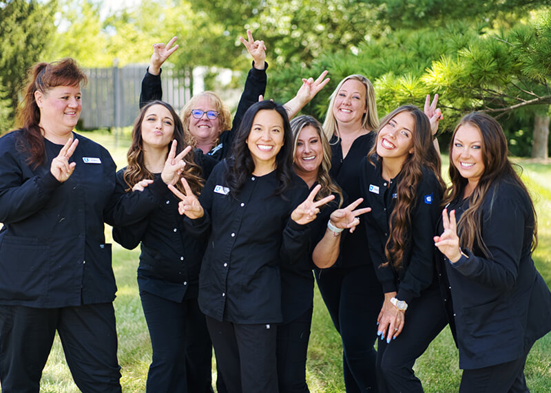 Our team welcomes you with smiles