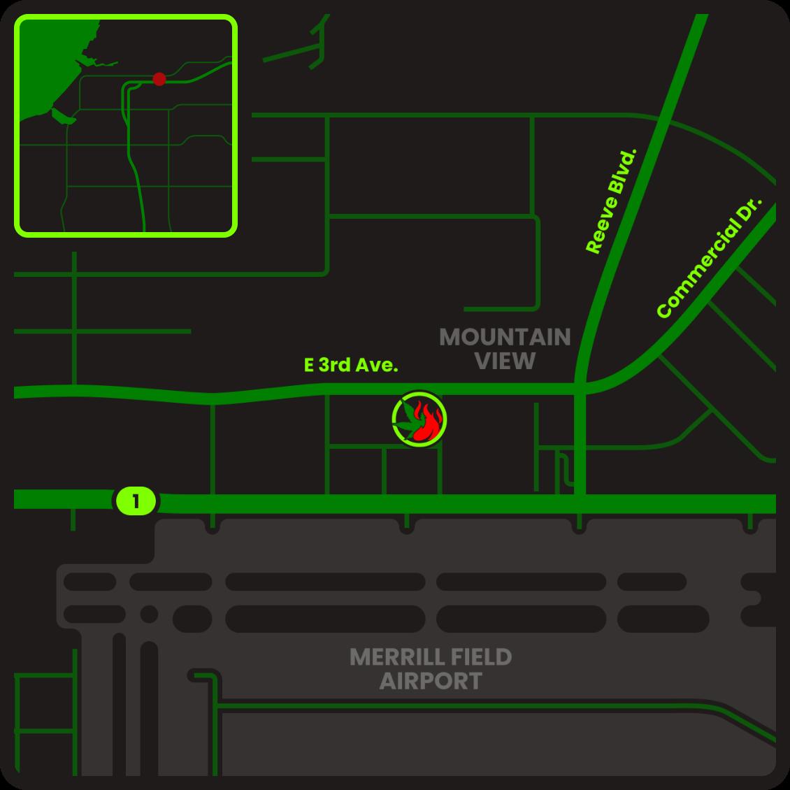 AK SlowBurn 3rd Avenue Map