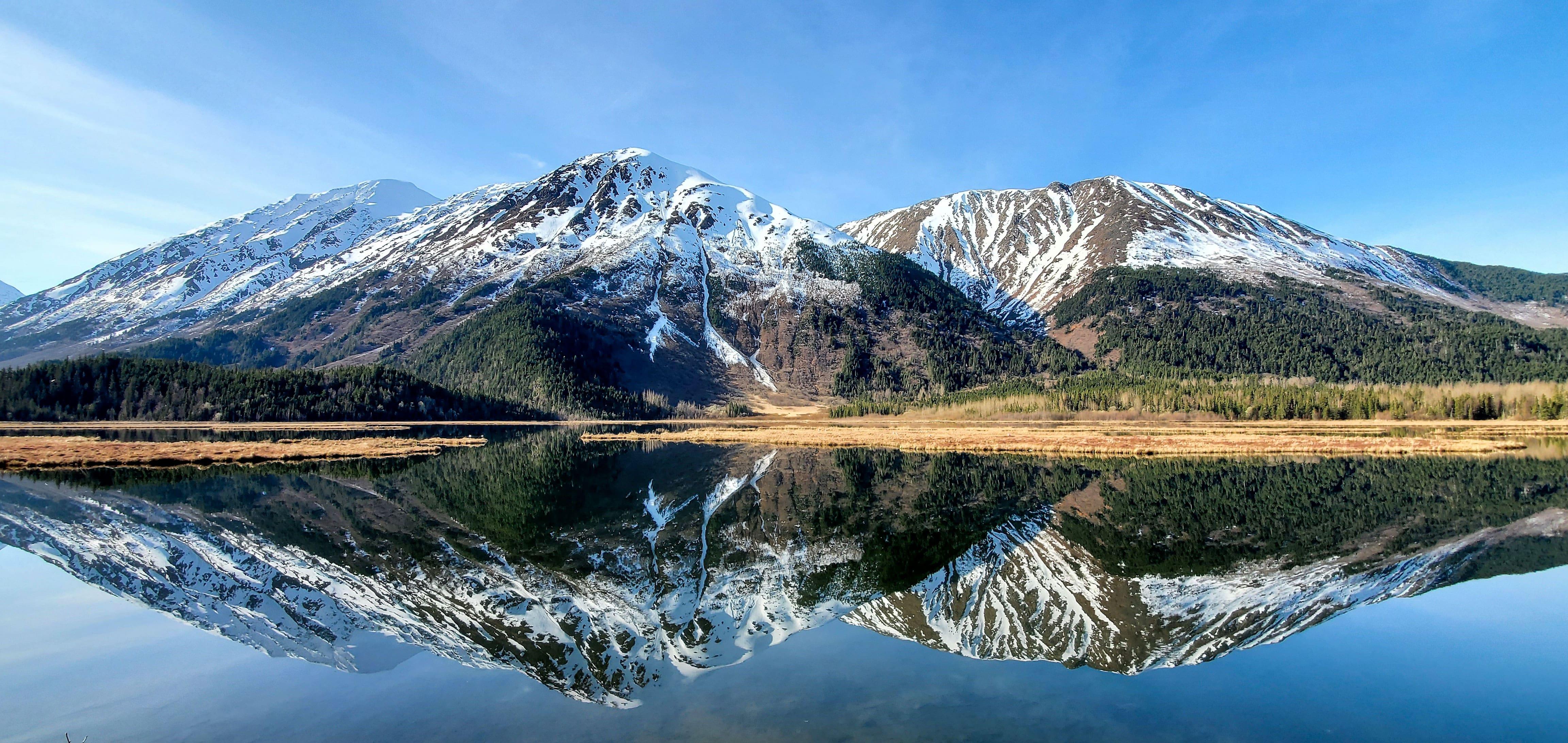 Tern Lake and Mountains