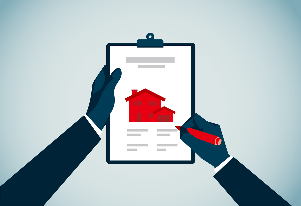 residential-property-clipboard-illustration