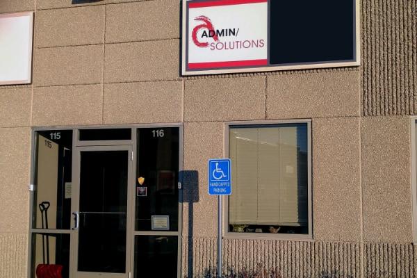 Office Location Entrance Door