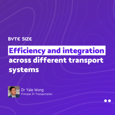 Efficiency and integration across different transport systems