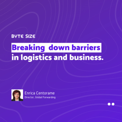 Interview with Enrica Centorame | Breaking down barriers in logistics and business