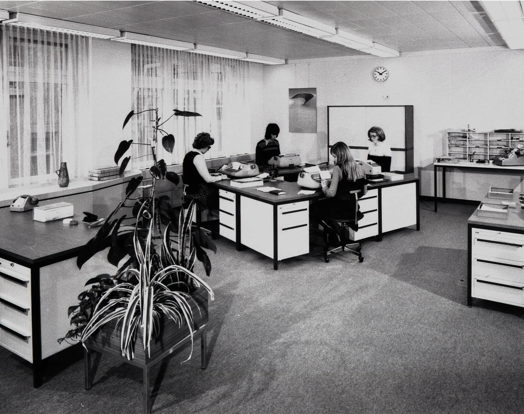Office in 1970s