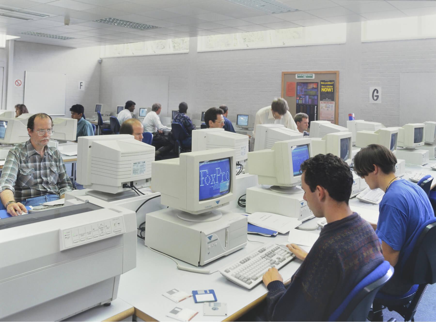 Office in 1980s