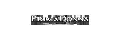 Logo van Prima Donna, een lingeriemerk voor dames.