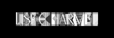 Logo van Lise Charmel, een lingeriemerk voor dames.