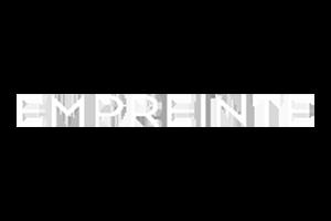 Logo van Empreinte, een lingeriemerk voor dames.