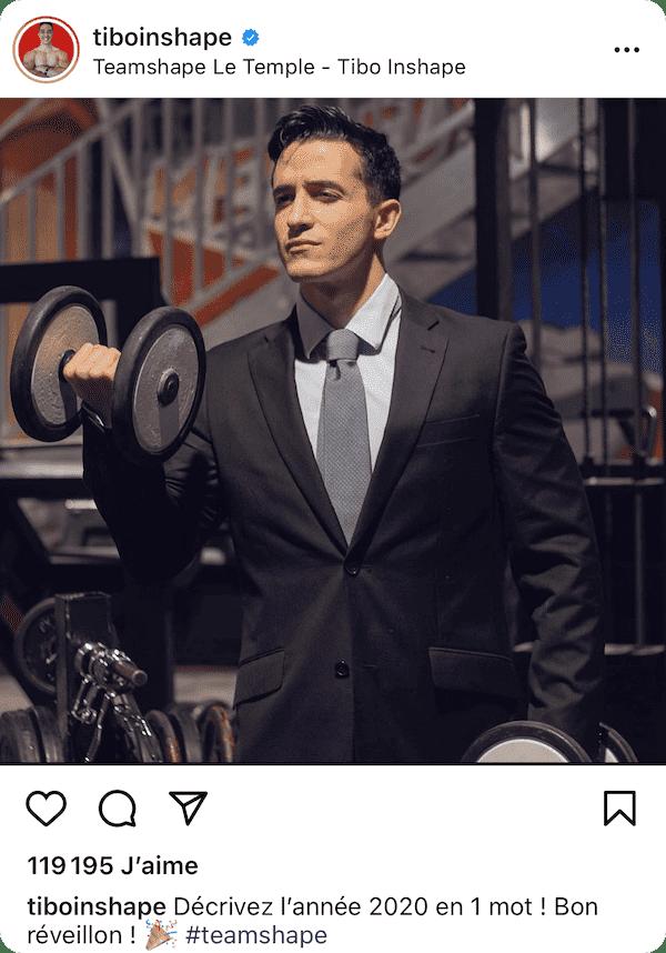 post instagram tiboinshape
