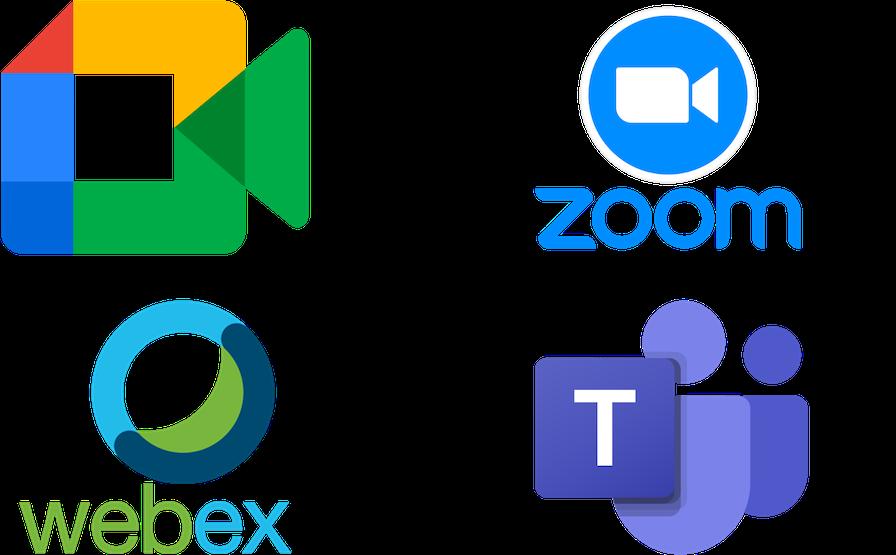 visioconférence teams google discord zoom