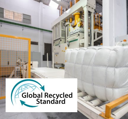 Sasia obtains GRS (Global Recycle Standard) Certification