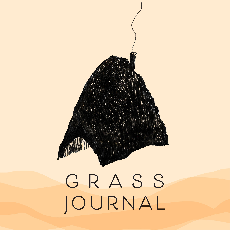 A grass hut with woodsmoke