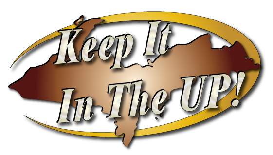 keep it in the UP! logo