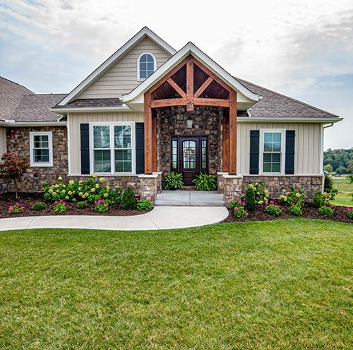 exterior shot of a home