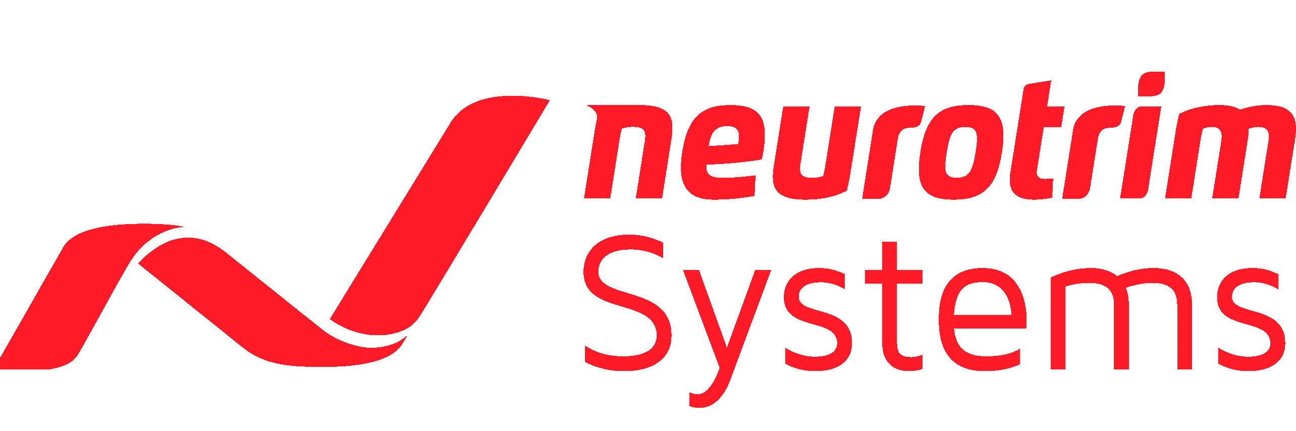 Logo neurotrim Systems rot/rot
