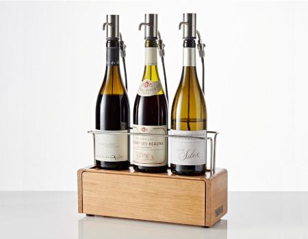 conserver et distribuer trois vin