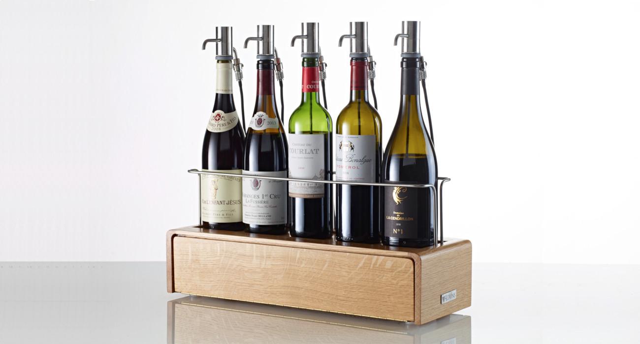 Distributeur de vin au verre  wine dispenser