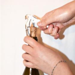 Ouverture d'une bouteille