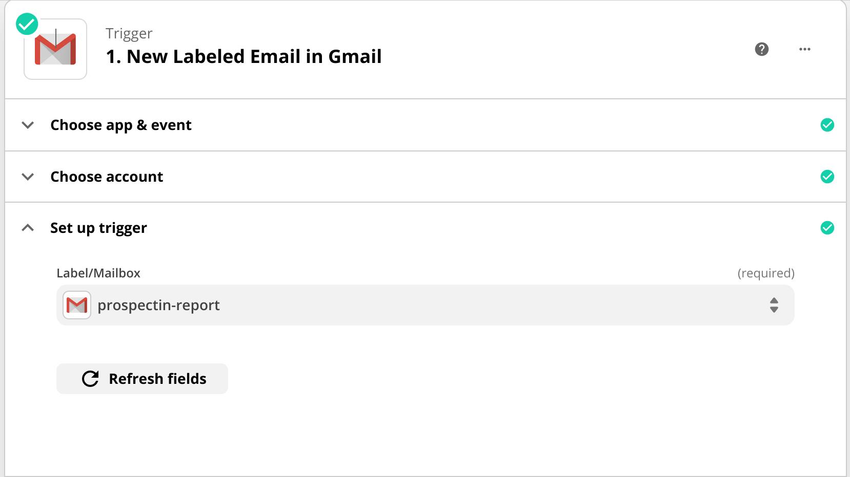 zapier trigger gmail