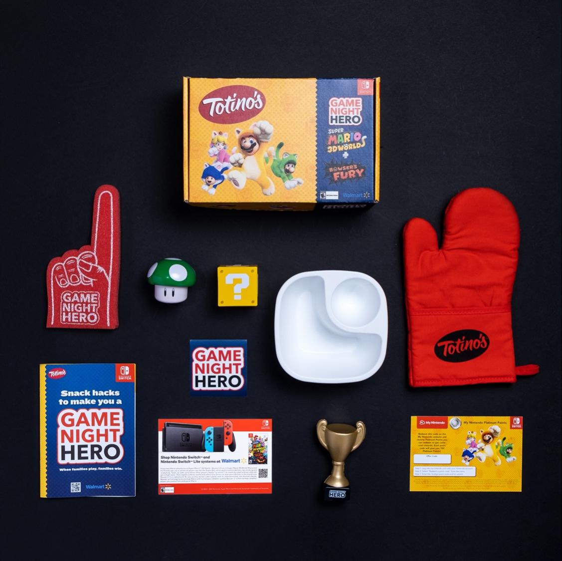Game night hero sample box