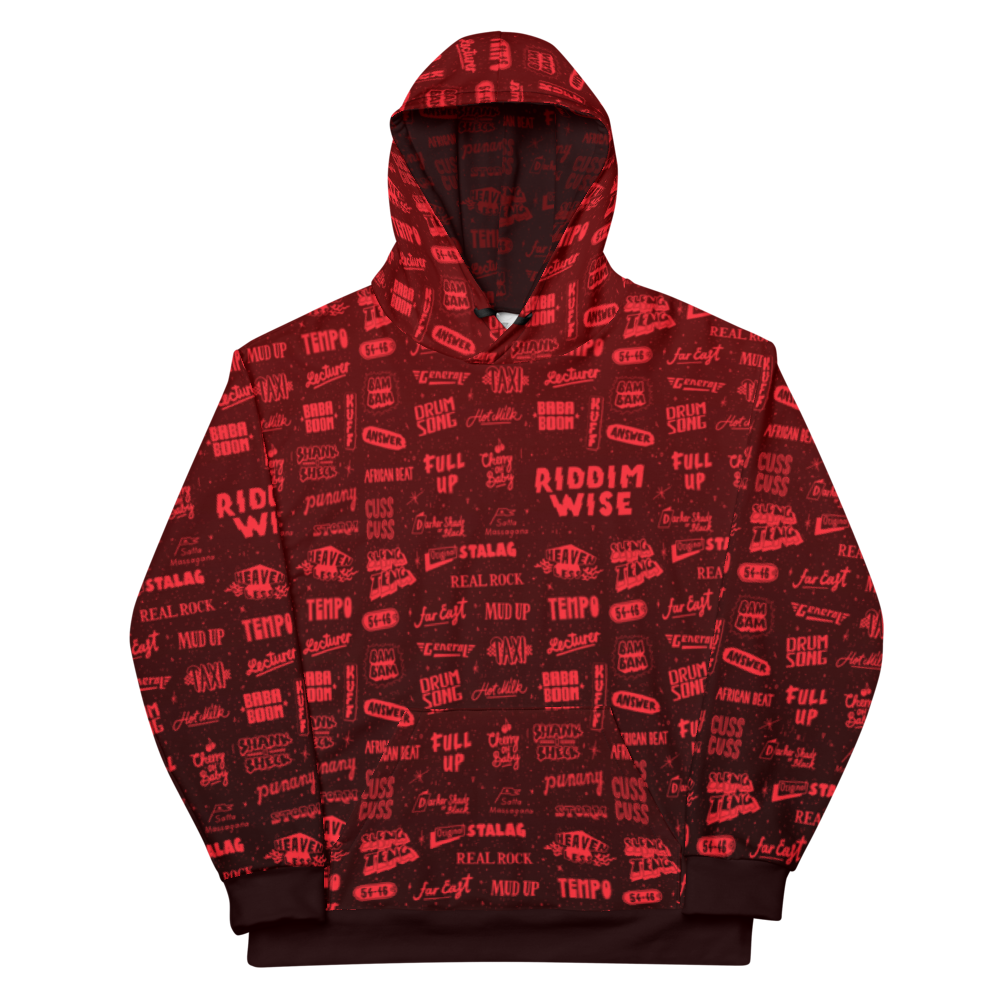 Hoodie with All Over Print