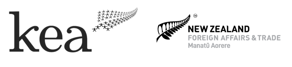 KEA NZ and Ministry of Foreign Affairs & Trade Logos