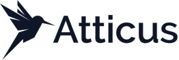 Atticus logo - software for verifying regulated disclosure documents