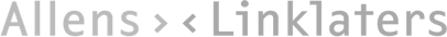 Logo of Allens >< Linklaters for an Atticus legal tech verification case study