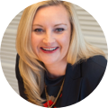 Photo of Michelle Mahoney, Executive Director of Innovation at KWM law firm; for an Atticus case study