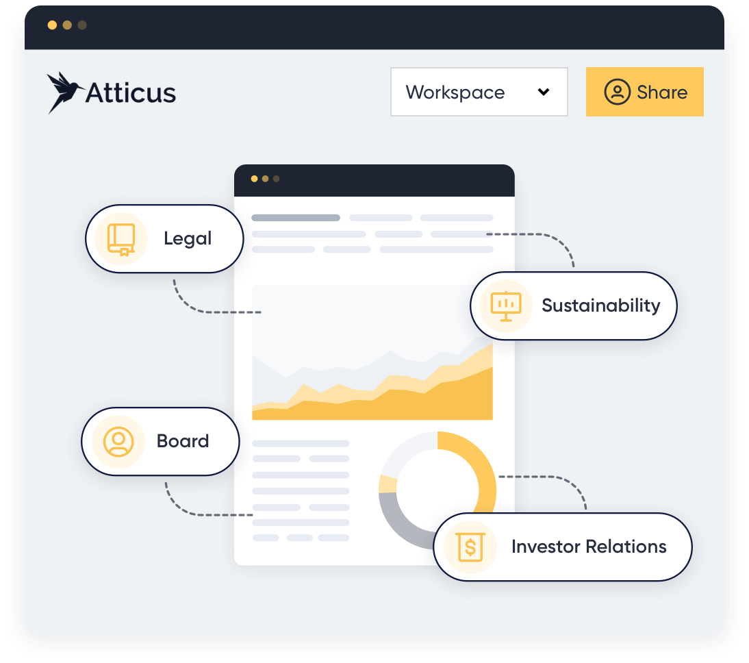 A graphic showing verifiers coming onto Atticus to verify a verification document