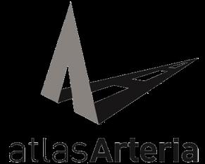 Logo of Atlas Arteria, a corporate reporting client of Atticus