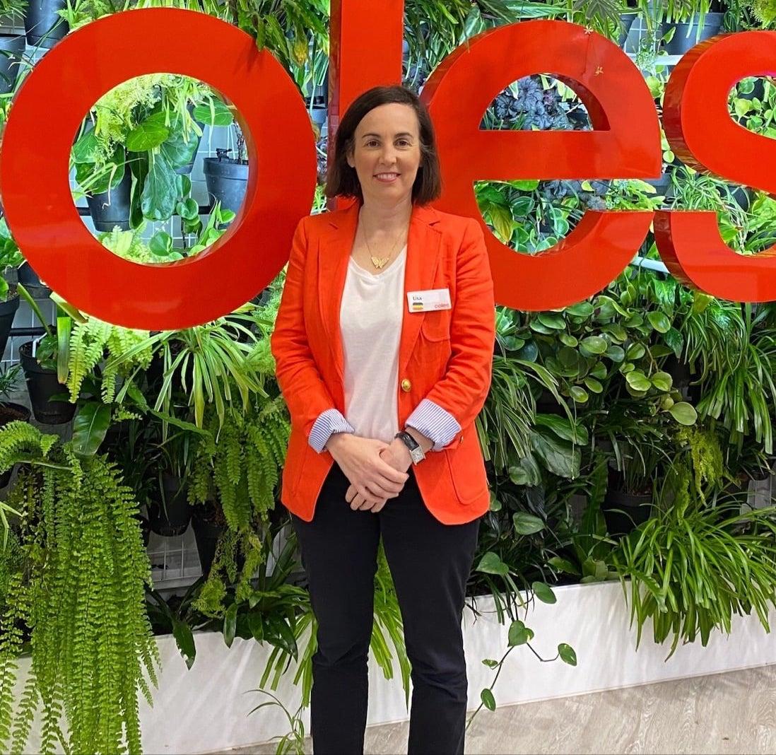 Lisa Zimmet, Head of Investor Relations, Coles