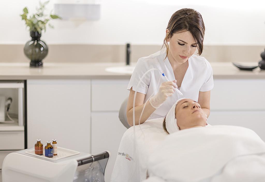 Jetpeel Behandlung Kosmetikstudio Bodman Ludwigshafen