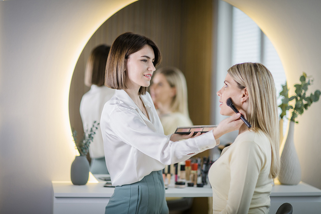Professionelles Make-up Kosmetikstudio Bodman Ludwigshafen