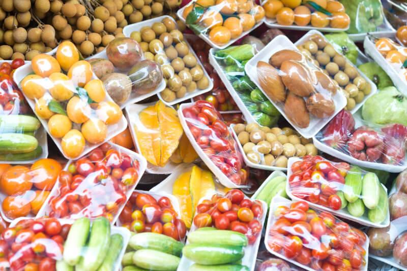 Packaged food flexible packaging