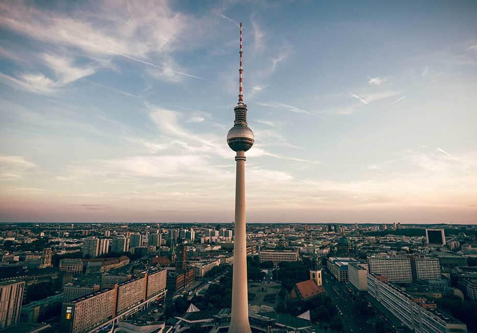Berlin Tv-Tower Alexanderplatz Hiring